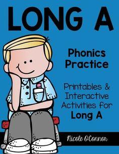 Long A Interactive Phonics Practice!!!