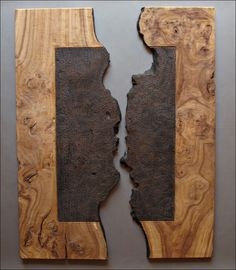 Mural :Wall panels in wood, wood design. | Contemporary sculpture. Benoit Averly
