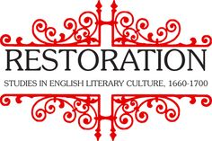 Restoration publishes new work in the field of English letters, arts, culture and society from 1660-1700.