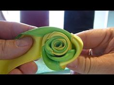 Rose für Ostern, eastern rose decoration, very simpel - YouTube