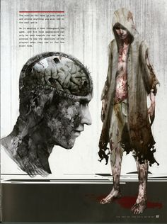 Ruvik concept art , The Evil Within