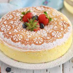 Japanese Cheesecake Recipes, How To Make Cheesecake, Pumpkin Cheesecake, Cheesecake Desserts, Round Cake Pans, Round Cakes, Baking Recipes, Dessert Recipes, Plain Cookies
