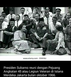 Mr.President #SOEKARNO #INDONESIA_