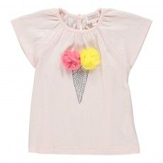 Ice T-shirt  Pale pink