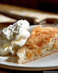 This flourless cake is light and delicious.
