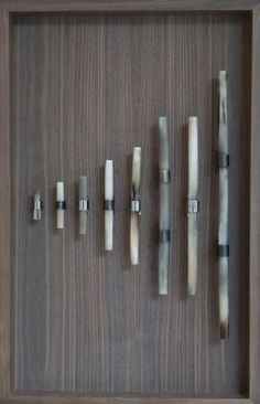 OCHRE - Contemporary Furniture, Lighting And Accessory Design - Horn Handles - Pale