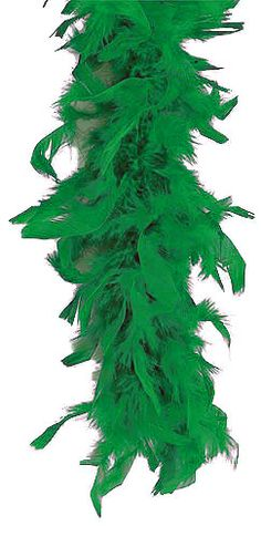 Kelly Green Feather Boa 40 Gram. on sale for $4.99