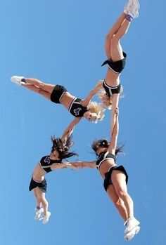 Athletic cheerleading