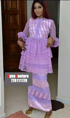 À coudre African Wear, African Dress, African Lace Styles, Fashion Design Sketchbook, African Fashion Dresses, How To Wear, Outfits, Clothes, Women