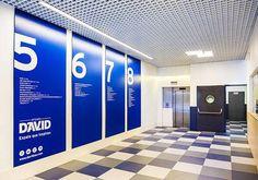 Iluminación entrada oficinas – Edificio DAVID Barcelona – Espacio en Blanco  #iluminacionoficinas #iluminacionentradas #iluminacionparaoficinas #iluminacionmoderna