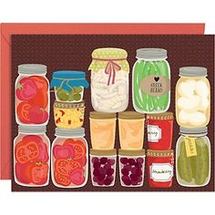 Paper Source Canning Jars Stationary