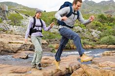 If running isn't your thing, hiking is a great way for couples to spend time together at a more manageable pace.