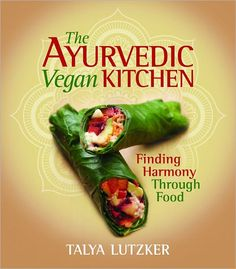 The Ayurvedic Vegan Kitchen.  One of the best vegan cookbooks I have used.  The vegan black bean fudge brownies are amazing!!