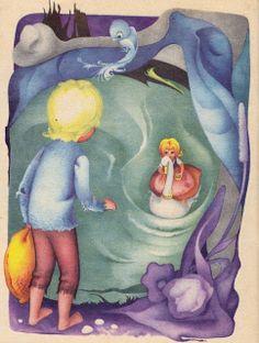 Adriana Mihailescu illustration from 'Hansel and Gretel', 2013 Harry Clarke, Maxfield Parrish, Aubrey Beardsley, Kay Nielsen, Jean Cocteau, Magic Words, Beatrix Potter, Fairy Tales, Illustration