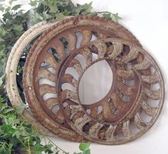 Stove Pipe Collar Metal Grate Ring by elementsbytimbers on Etsy, $55.00