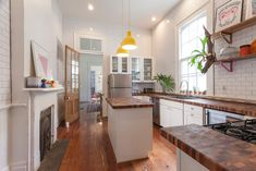 Home Remodeling Plans butcher block made in NOLA - To mark the anniversary of Hurricane Katrina, this week Curbed is looking at how the housing, architecture, and neighborhoods of New Orleans have changed since the storm. New Orleans Homes, New Homes, Shotgun House Interior, Home Renovation, Home Remodeling, Shotgun House Plans, Build Your Dream Home, Tiny House Plans, New Kitchen
