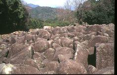 中国地方の地形環境 山口県 吉部の大岩郷