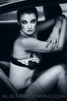 Location beauty shoot for model's Portfolio Make up & Hair: Rebecca Marks