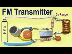 In this venture we are going to structured single transistor FM transmitter circuit that works successfully in km go. In this circuit we. Electronics Mini Projects, Electrical Projects, Electronics Components, Diy Electronics, Ingenieur Humor, Antenne Fm, Physics Projects, Electronic Circuit Design, Us Cellular