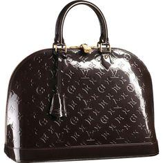 Louis Vuitton Alma MM Monogram Vernis M91449
