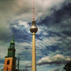 Fernsehturm   TV Tower in Berlin, Berlin
