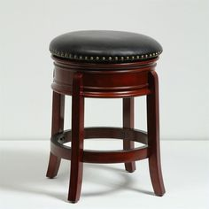 "Lowest price online on all 24"" Swivel Bar Stool in Cherry - 43924"