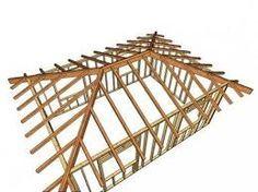 Resultado De Imagen Para Techos De Cuatro Aguas Hip Roof Hip Roof Design Roof Design