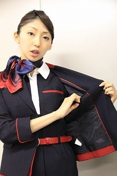 JAL Japan Airlines cabin crew
