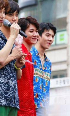 suho, kai, baekhyun, and sehun 'ㅅ'