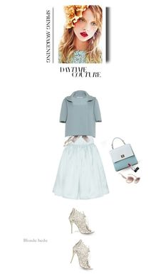 """""""The moment you love & accept yourself, you become beautiful"""" by blonde-bedu ❤ liked on Polyvore featuring Oscar de la Renta, Salvatore Ferragamo, Chanel and Christian Dior"""