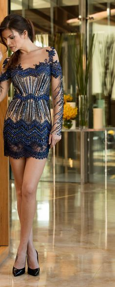 Toufic Hatab Spring-summer 2016 - Couture - http://www.orientpalms.com/Toufic-Hatab-6126