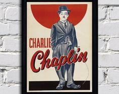 Quadro Charlie Chaplin Vintage