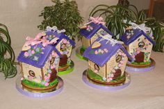 GINGERBREAD HOUSE~ MINI SPRING GINGERBREAD HOUSES. Одноклассники