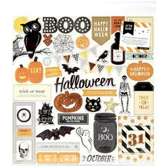 Crate Paper AFTER DARK Collection 12 x 12 by SeptemberPlayground