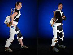 X1 Robotic Exoeskeletion, criado pela Nasa para ajudar pessoas com dificuldade de locomoção e astronautas