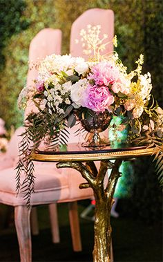 Decor: Alice in Wonderland Whimsical Cocktail LoungeEver After Blog | Disney Fairy Tale Weddings and Honeymoon