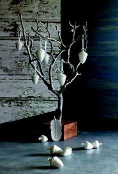 Porcelain acorn ornaments Acorn, Earthy, Family Room, Ceramics, Ornaments, Studio, Nature, Inspiration, Ceramica