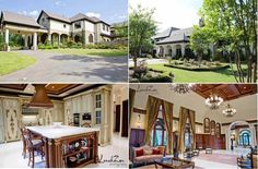 The Bachelorette House, Charlotte, N.C.The 12,000 square foot European-style mansion with stucco and stone exteriors offers plenty of room for Emily and her aspiring 25 suitors in the 6 bedrooms and 8.5-bathrooms,  http://radaronline.com/exclusives/2012/03/bachelorette-house-photos-emily-maynard-charlotte/