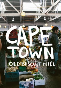 Cape Town Little Biscuit Mill ~ is a vibrant, beautiful little village in the heart of Woodstock with markets, designer stores, cafes and workshops. Ranked # 13 of 190 things to do in Cape Town Central by TripAdvisor Woodstock, Population Du Monde, Le Cap, Miss Moss, Cape Town South Africa, Africa Travel, Oh The Places You'll Go, Travel Inspiration, Tourism