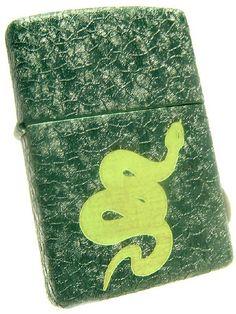 Zippo Lighter Snake