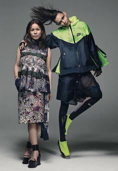 NIKE LAB + Sacai : Collaboration: 2015 : Fashionsnap.com