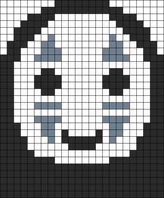 No Face Perler Bead Pattern | Bead Sprites | Characters Fuse Bead Patterns