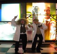 Themed mime artist and street entertainers for hire in london and the UK