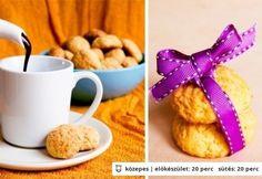 Narancsos kukoricakeksz forró csokival Cereal, Almond, Muffin, Paleo, Sweets, Vegetables, Breakfast, Food, Morning Coffee