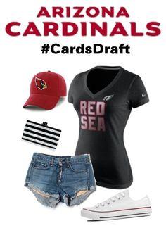 Arizona Cardinals Draft Outfit #AZCardinals #NFLFanStyle