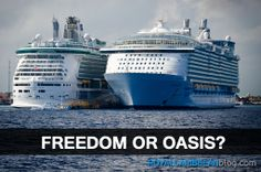 Tough choice! Which would you choose?   #cruise #travel #royalcaribbean