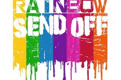 Honoring Fred's life with a Rainbow Send-Off! @Human Rights Campaign @George Takei