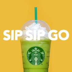 Frappuccino GIF Keyboard? We're here for you, bbs.