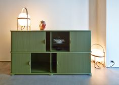Colorful addition to your living room - Rolladensideboard by Swiss Designer couple Trix & Robert Haussmann Furniture Manufacturers, Designer, Colorful, Couple, Mood, Cabinet, Living Room, Storage, Home Decor
