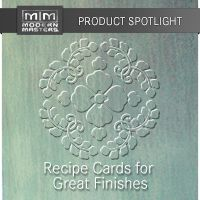 Modern Masters Recipe Cards for Great Finishes